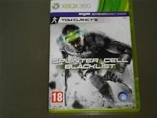 Splinter Cell Blacklist Xbox 360 PAL Reino Unido ** ** GRATIS UK FRANQUEO