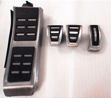 Car Clutch Gas Brake Foot Pedal Cover For AUDI A4L S4 A5 A6L S6 Q5 S5 RS5 A7 LHD