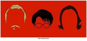 Original-RUSHMORE-Art-Print-Wes-Anderson-Life-Aquatic-Royal-Tenenbaums-DVD-Blu