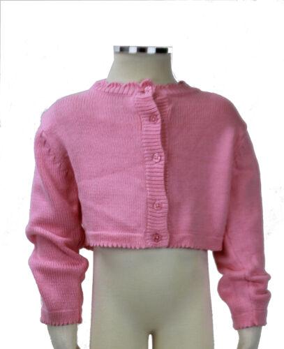 JACADI Girl/'s Balade African Marigold Long Sleeve Cardigan Sz 2 Years NWT $58