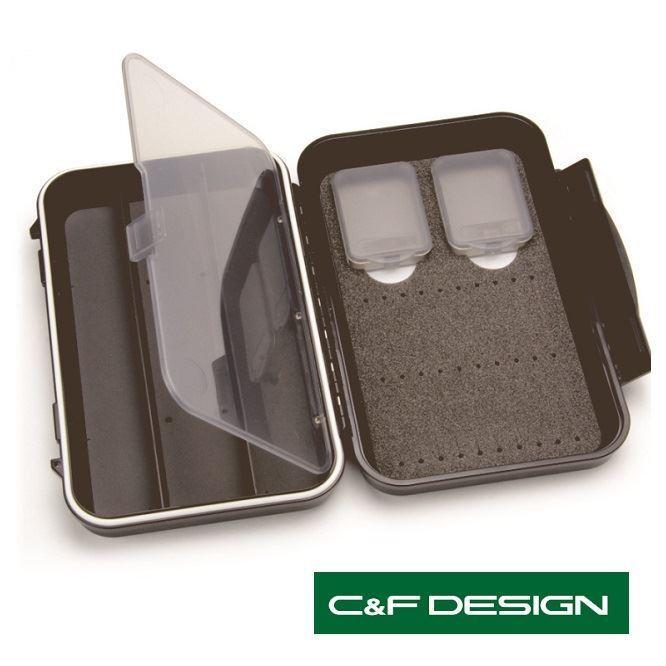 C e F Design Design Design Medium 2-Row impermeabile tubo FLY CASE con 3 compartmentscf - 2403V c6bf8f