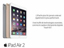 APPLE iPad Air 2 - 128 Go - WiFi - Or