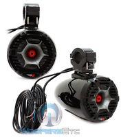 Cerwin Vega Stroker Spmt65s 6.5 Boat 3-way Tweeters Marine Tower Speakers