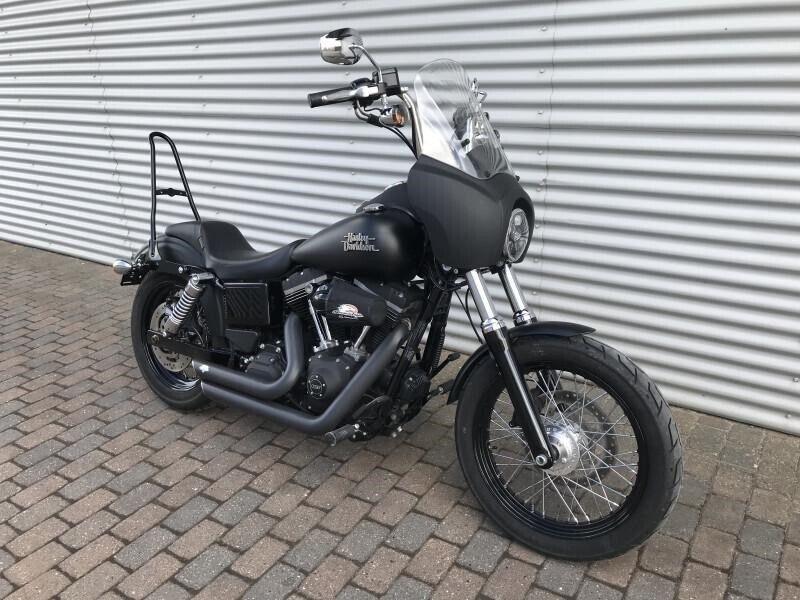 Harley-Davidson, FXDB Dyna Street Bob, ccm 1690
