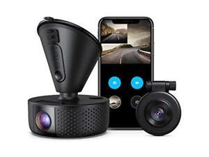 Dual Dash cam | VAVA Dual 1920x1080P FHD | Front and Rear dash camera