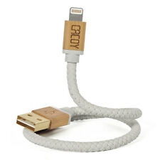 CACOY 30cm Short Apple MFi Lightning USB Charger Cable for iPhone 7 6s 5s White