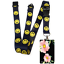 Beautiful-FLOWERS-Standard-size-ID-badge-holder-and-lanyard-neck-strap-gift thumbnail 69