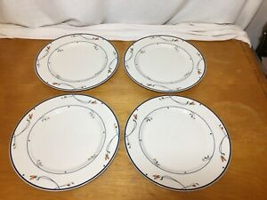 4-GUC-Gorham-Ariana-Town-and-Country-Fine-China-Collection-Dinner-Plates-10-5-8-034