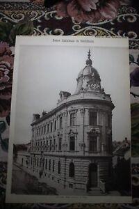 1886 9/vienne Sechshaus Mairie Architecte Eugen étroit-afficher Le Titre D'origine
