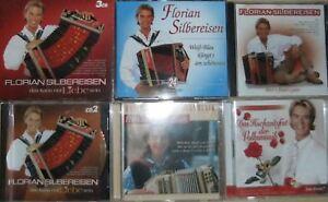 13-CD-Florian-Silbereisen-Volksmusik-Akkordeon-Box-Weiss-Blau-Hochzeitsfest