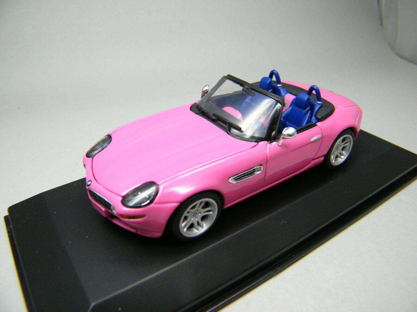1 43 Minichamps BMW Z 8 rose Modèle Véhicule leserwahl 2000-TRÈS RARE
