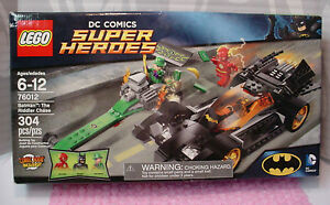 Lego Set Dc Comics Super Heroesbatman The Riddler Chase Flash