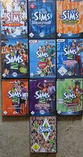 Die SIMS 3 Hauptspiel Grundversion + Sims 1 + Sims 2 + Addons sehr viel DEUTSCH