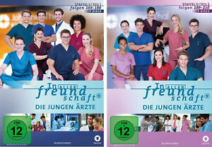14-DVDs-IN-ALLER-FREUNDSCHAFT-DIE-JUNGEN-ARZTE-STAFFEL-5-1-5-2-NEU-OVP