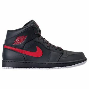 9fceb7b1cc6 AIR JORDAN RETRO 1 MID RETRO ANTRACITE BASKETBALL SHOES MEN S SELECT ...