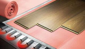 Laminat fußbodenheizung  Trittschalldämmung Laminat Parkett Boden 2 mm(16m²) XPS für ...