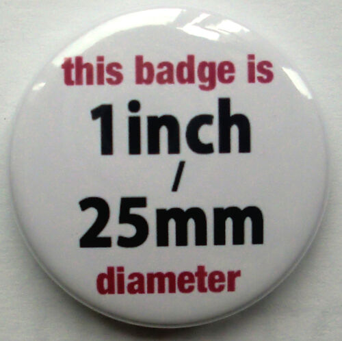 1inch//25mm diameter 100/% HORNY FUNNY BADGE BUTTON PIN STAG HEN PARTY