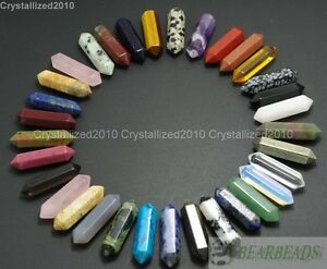 Piedras-preciosas-naturales-talladas-con-punta-hexagonal-Reiki-Chakras-Raw-Varita-Colgante-Cuentas
