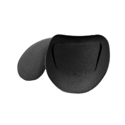Bye Bra Reusable Shoulder bra pads Black//nude 942