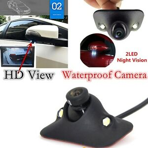 170-HD-Waterproof-Car-Front-View-Side-View-Blind-Spot-Camera-Night-Vision-NEW