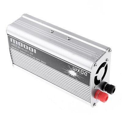 New 12V DC to AC 220V Car Auto Power Inverter Converter Adapter Adaptor 1000W