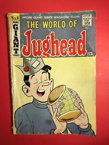 The-World-of-JUGHEAD-9-Archie-GIANT-Series-1960-low-grade-in-my-opinion