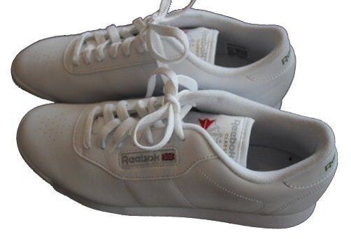 Da Donna Reebok Classic Princess Sneaker Scarpa Sportiva Bianco j95362 tg. 38,5, demo