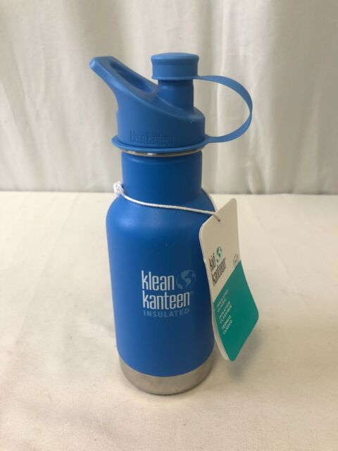 Klean Kanteen Kid's Vacuum Insulated Classic Bottle W/ Sport Cap Pool Party 12oz