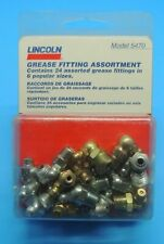 "NEW Lincoln Lubrication Grease Fittings Pack of 10 5291 1//4/""-28 45* Degree Agle"