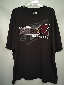 Image is loading NFL-Team-Apparel-ARIZONA-CARDINALS-Football-Tee-Grey- cd722c1e8