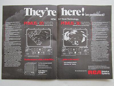 Realistisch 6/1976 Pub Rca Avionics Systems Primus Airborne Digital Weather Radar Ad Eerste Kwaliteit