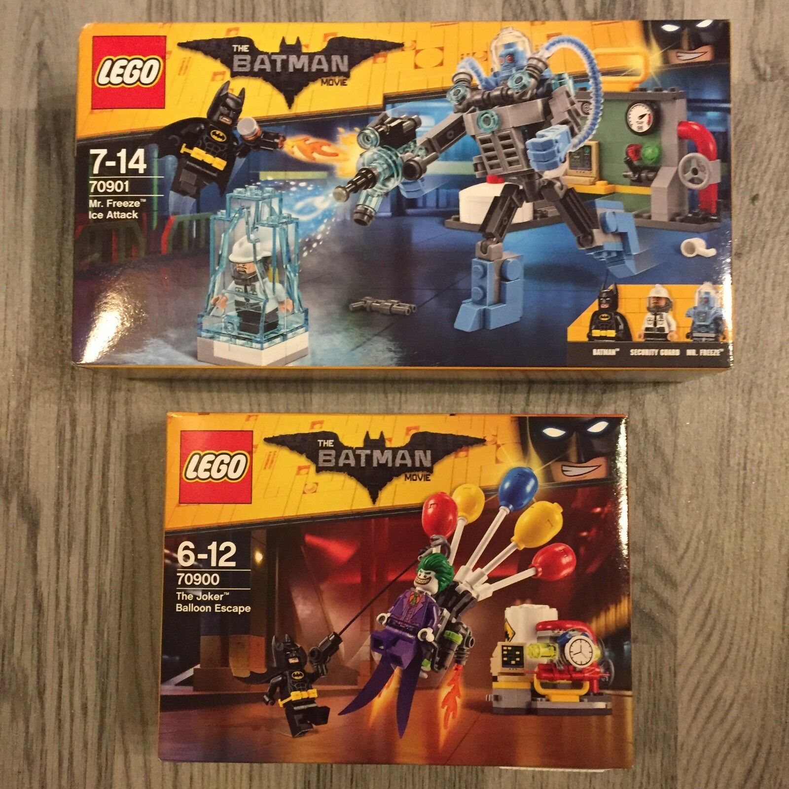 Lego BATMAN MOVIE Bundle 70901 & 70900   All Brand New & Sealed LOT a