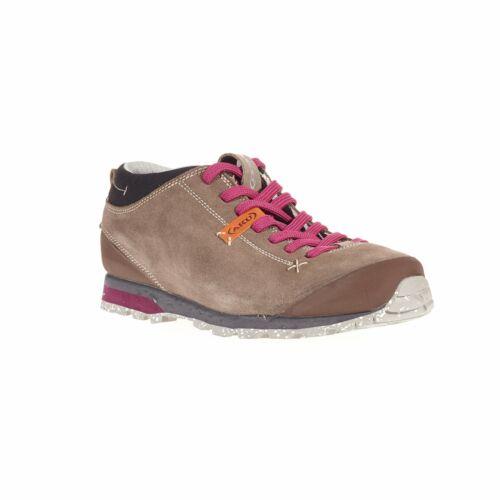 AKU Bellamont Suede GTX Damen Trekkingschuh Outdoor Sand Strawberry Gr 37-42