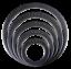 Code-Kick-Port-Bass-Drum-Head-Hole-Reinforcer-Black-White-2-034-3-034-4-034-5-034-6-034 thumbnail 5