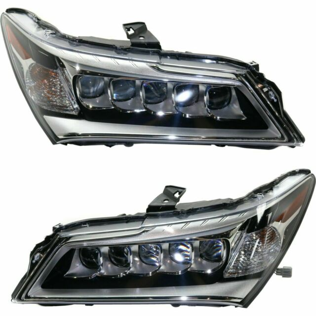 FIT ACURA MDX 2014-2016 RIGHT LEFT LED HEADLIGHTS HEAD
