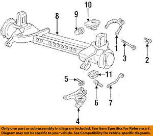 cadillac gm oem deville rear suspension lower control arm rear bolt rh ebay com 1994 Cadillac DeVille Front Struts 2002 Cadillac DeVille Problems