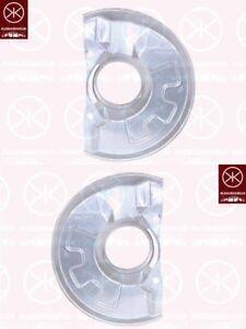 Spritzblech-Bremsstaubblech-Ankerblech-Satz-vorne-Mitsubishi-Carisma-Bj-95-06