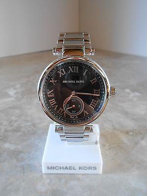 MICHAEL KORS MK6053 WOMEN'S SKYLAR STAINLESS STEEL BRACELET WATCH 38MM NIB