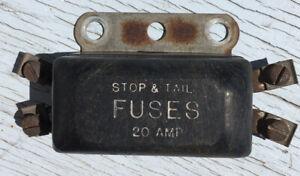 [DIAGRAM_38ZD]  1955 Chevy 6 Volt , 20 Amp Fuse Box | eBay | Vintage Amp Fuse Box |  | eBay