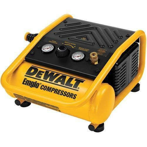 DeWALT D55140 1 Gallon 135 PSI Heavy-Duty Air Tool Trim Compressor - Electric. Buy it now for 159.99