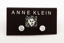 ANNE KLEIN Glass Stone Stud Earring  Msrp $26 *NEW WITH TAG *