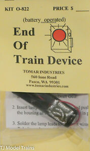 Battery Operated Tomar Industries #N-822 End Of Train Device