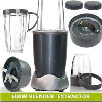 12pcs Magic 600w Nutri Flash Extractor Bullet Blender