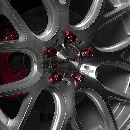 Blue 20 PCS M12X1.25 Short Lug Nuts For Nissan Rouge Altima 370z 350z WN01