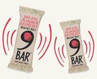 9 Bar Breakfast Almond & Raspberry 50g (pack Of 16)