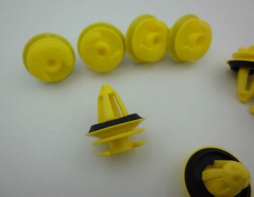 10x Verkleidung Clips Befestigung Klips Halter Panel Clip gelb für BMW 8mm 195B