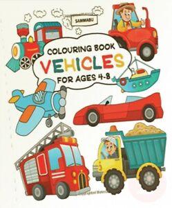 Vehicles-Colouring-Book-Ships-Trains-Planes-Motorbikes-Cars-Trucks