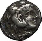 ALEXANDER III the GREAT Very Rare OBOL Small Ancient Silver Greek Coin i56271