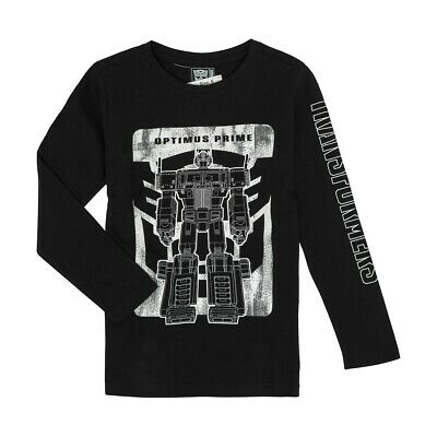 Transformers Optimus Prime Boys t shirt long sleeve New with tags free postage!