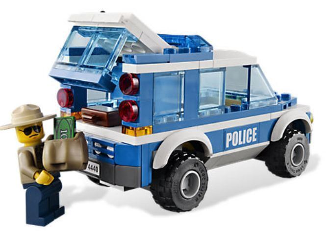 Lego City City City Police Forest Police Station Brand New c37fa1